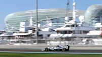 Rosberg sets the pace in Abu Dhabi