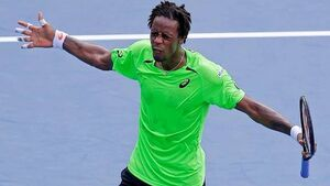 Monfils beats Dimitrov to set up quarter-final with Federer