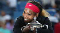 'Compton kid with a dream and a racquet' equals Evert and Navratilova record