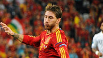 Spain wraps up a comfortable victory over Macedonia