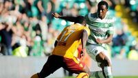 Celtic held to a draw by Motherwell