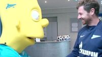 Bart Simpson signed for Zenit St Petersburg