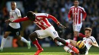 Shaky Spurs fall to Stoke at White Hart Lane