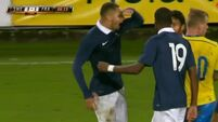French U21 team made to pay for cocky early celebration
