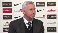 Pardew prepares for Palace switch