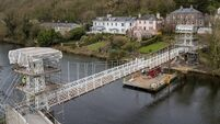 Cork's Shakey Bridge returns as last restored section installed