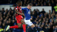 Everton move into top half of League with victory over QPR