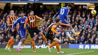 PICS: Chelsea and City record wins as Burnley shock Saints