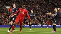Henderson and Sturridge do the business for Liverpool