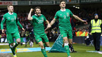 Ireland leave it late to deserve a point