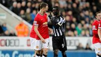 United with last-gasp win against Newcastle