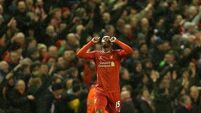 Sturridge starts for Liverpool; Arsenal look to bounce back after derby defeat