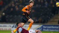 Hull overtake Villa with crucial win