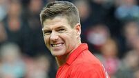 Gerrard to miss Palace game