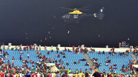African Nations match suspended after crowd riot