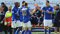 Leicester off the bottom with Swansea scalp