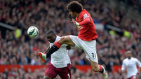 United go third as relegation battle takes further twist