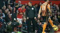 City without strikers again; Di Maria out for United