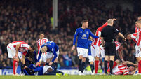 St Stephens Day success for Stoke at Goodison Park