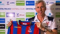 Pardew confirmed as Palace boss