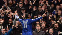 Drogba wants to stay at Chelsea