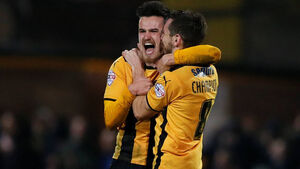 Cambridge winger: We were comfortable against United