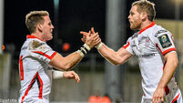Ulster redeem themselves with bonus-point win over Leicester