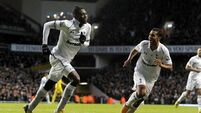 All the Spurs issues are in the past, Adebayor insists
