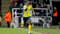 Elia double gives Saints win at Newcastle