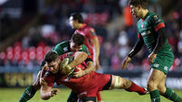 Leicester prove too strong for Scarlets
