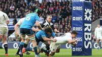 Victory for dominant England in Twickenham