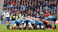 Italy shock Scots who look favourites for wooden spoon