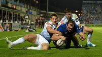 Leinster edge out plucky Blues