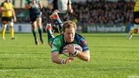 Connacht record emphatic win in Europe