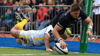 Saracens get bonus-point win over Clermont