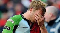 Robshaw to miss Leinster clash