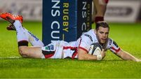 Ulster name side to face Ospreys in Wales