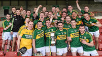 Kerry, Kildare, Tyrone and Warwickshire claim hurling titles
