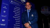 Practice session hints at Europe's Ryder Cup pairings