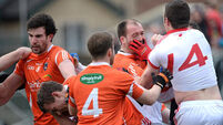 Tyrone beat Armagh in bad-tempered clash