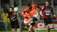 Dr McKenna Cup: Armagh and Down take down college sides