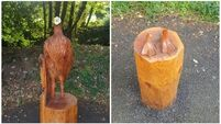'A pathetic deed': Vandals behead wooden sculpture in Killarney National Park