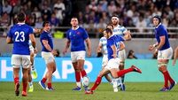 France edge out Argentina with late drop-goal