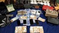 Two arrested as gardaí seize €163,000 worth of suspected cocaine
