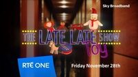 WATCH: It's here! The Late Late Toy Show trailer
