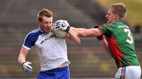 Mayo turn up the heat on short-handed Monaghan