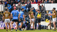 Dubs survive comeback to beat 13-man Kilkenny