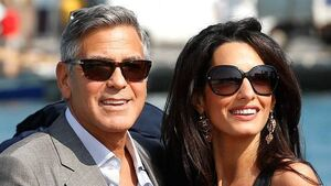 Clooney and Amal buy £5m British base to raise kids