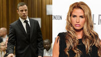 'Pistorius messaged me during trial', Katie Price claims