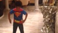 WATCH: J-Hud's son has got the moves